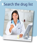 Search the drug list