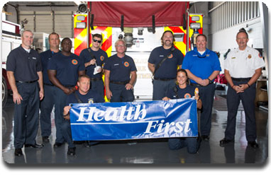 Photo: Health First to Give Free Ice Cream to Thank Local First Responders Week of 9/11