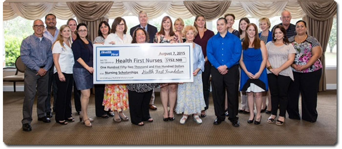 Photo: Health First Awards 40 Nursing Scholarships to Associates - First Time Scholarships have been Awarded