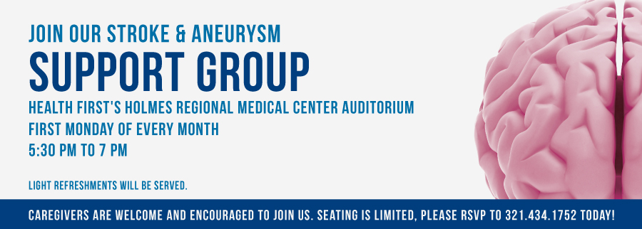 Join Our Stroke & Aneurysm Support Group