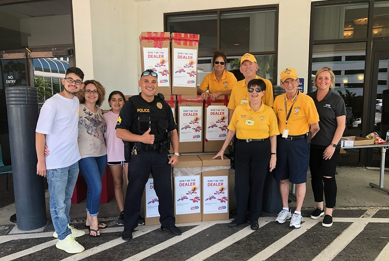 Health First's Community Hospitals Drug Take Back Day 2019