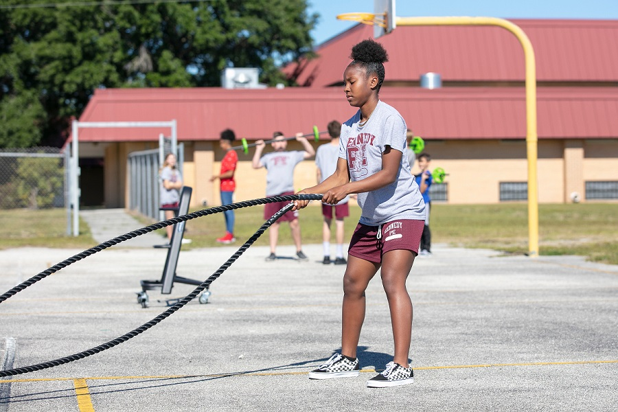 Health First Fitness Grant Amps Up 