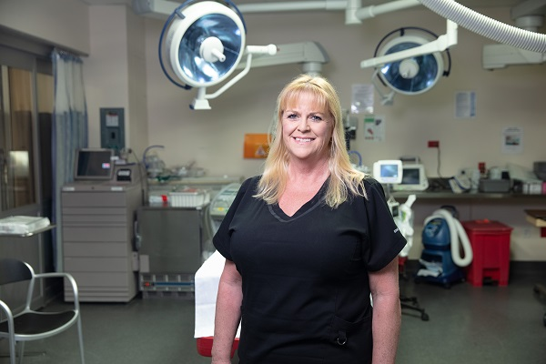 Julie Newhouse, a nurse manager