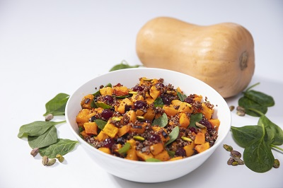 Colorful bowl of Squash and Vegetables