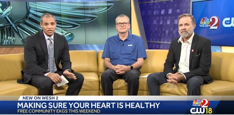 WESH 2 news anchor, Health First Foundations's Mike Seeley, Who We Play For's Kurt Easton